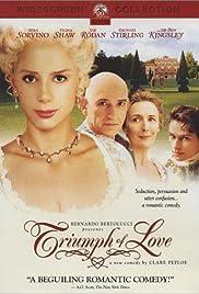 The Triumph of Love(2001) Poster - Movie Forum, Cast, Reviews