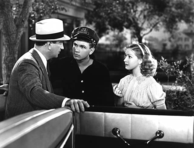 Bonita Granville, John Litel, and Frankie Thomas in Nancy Drew: Detective (1938)