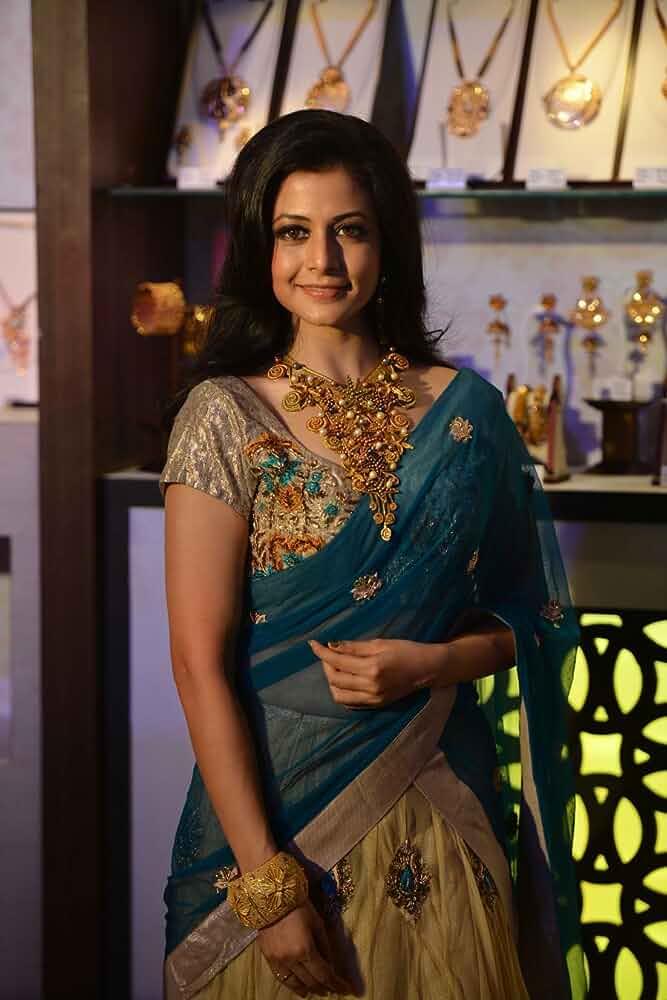 Koel Mallick looks beautiful in a saree
