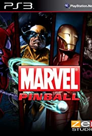 Marvel Pinball Poster