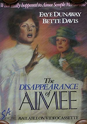 The Disappearance of Aimee poster
