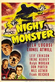 Night Monster (1942) Poster - Movie Forum, Cast, Reviews