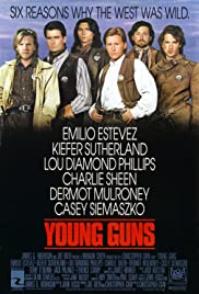 Young Guns (1988) Poster - Movie Forum, Cast, Reviews
