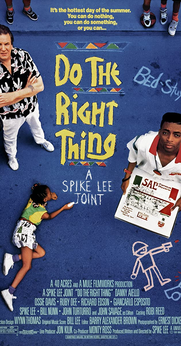 do the right thing essay Leaving the theater after the tumultuous world premiere of do the right thing at cannes in may of 1989, i found myself too shaken to speak, and i avoided the clusters.
