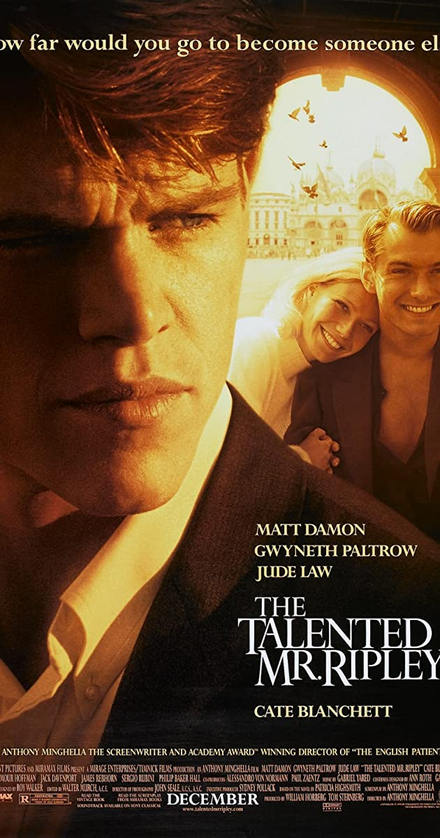 Talentingasis misteris Riplis / The Talented Mr. Ripley (1999) Online