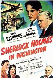 Sherlock Holmes in Washington(1943) Poster - Movie Forum, Cast, Reviews
