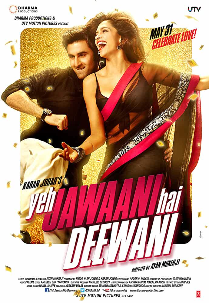 Yeh Jawaani Hai Deewani 2013 Hindi 480p BRRip 300MB