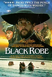 Black Robe (1991) Poster - Movie Forum, Cast, Reviews