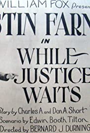 While Justice Waits Poster