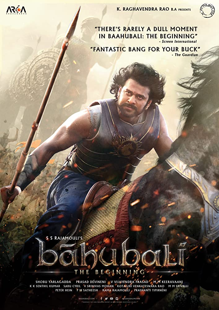 Baahubali: The Beginning (2015) HDRip 720P Hindi Dubbed