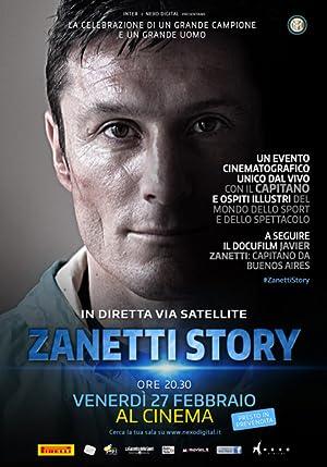 Javier Zanetti capitano da Buenos Aires Poster