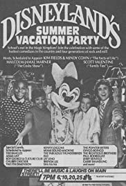 Disneyland's Summer Vacation Party Poster