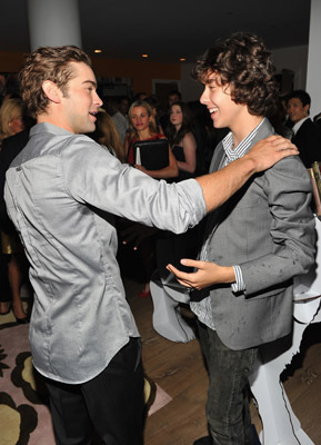 Nat Wolff and Chace Crawford at Mao's Last Dancer (2009)