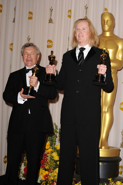 Ray Beckett and Paul N.J. Ottosson at The 82nd Annual Academy Awards (2010)