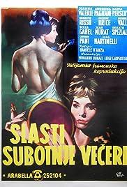 I piaceri del sabato notte Poster