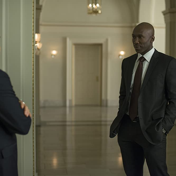 Kevin Spacey and Mahershala Ali in House of Cards (2013)