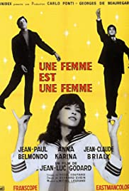 A Woman Is a Woman (1961) Poster - Movie Forum, Cast, Reviews