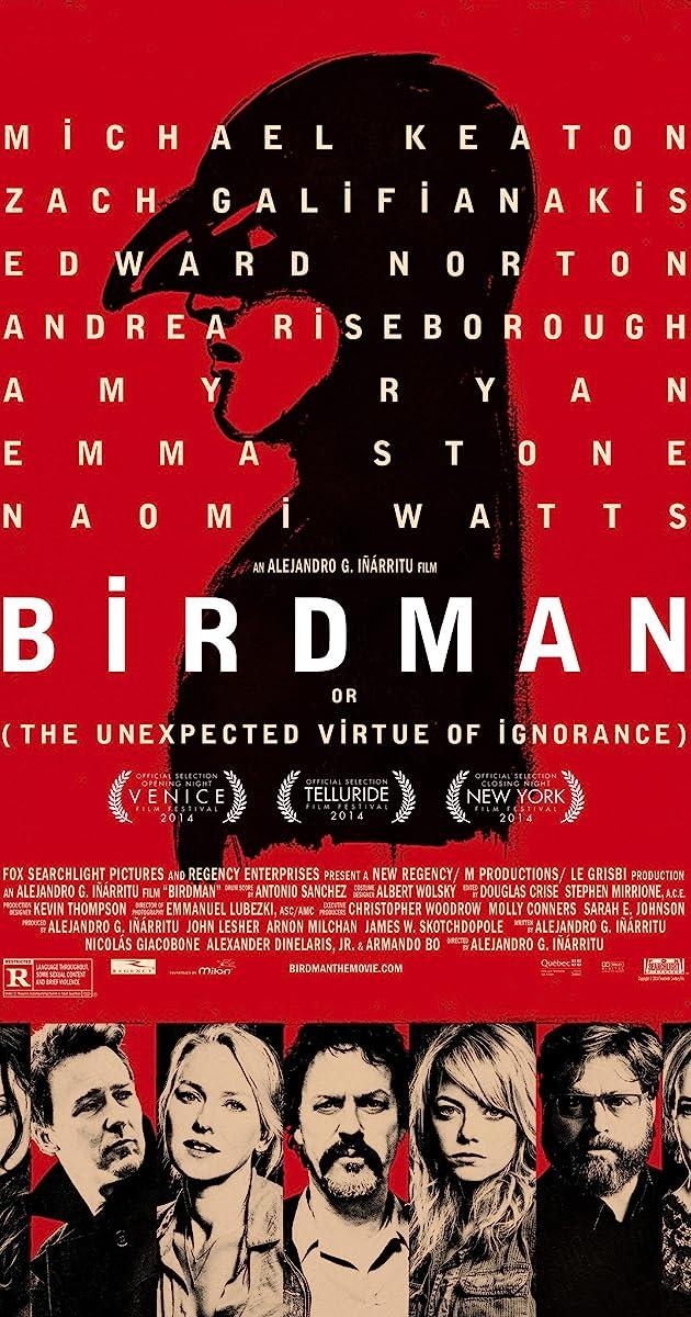 Resultado de imagem para Birdman (2015)