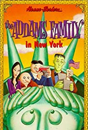The Addams Family in New York Poster
