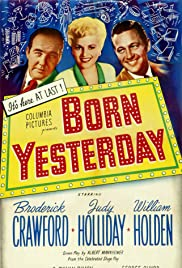 Born Yesterday (1950) Poster - Movie Forum, Cast, Reviews