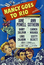 Nancy Goes to Rio (1950) Poster - Movie Forum, Cast, Reviews