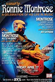 A Concert for Ronnie Montrose: A Celebration of His Life in Music Poster