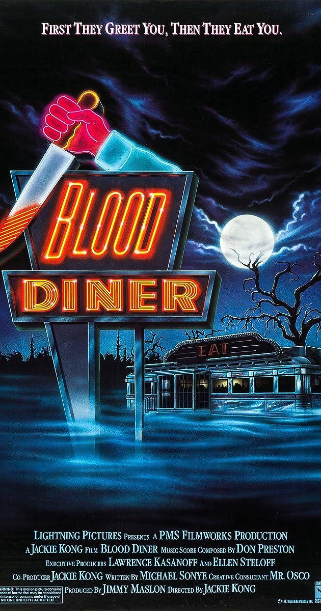 Resultado de imagem para blood diner poster