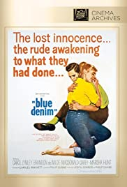 Blue Denim (1959) Poster - Movie Forum, Cast, Reviews