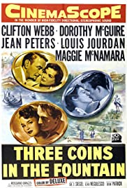 Three Coins in the Fountain (1954) Poster - Movie Forum, Cast, Reviews