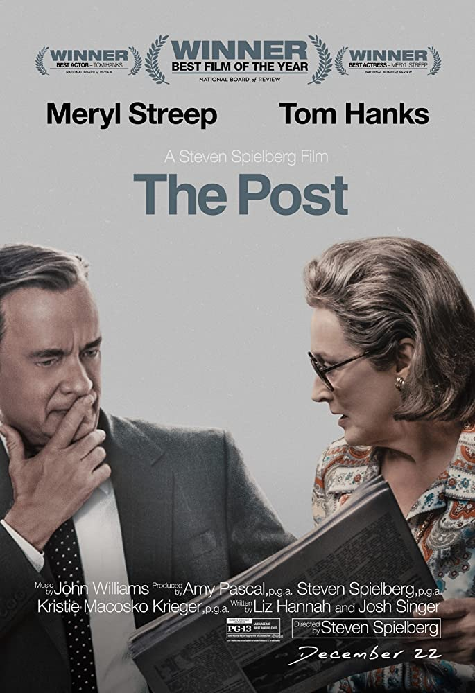 Tom Hanks and Meryl Streep in The Post (2017)
