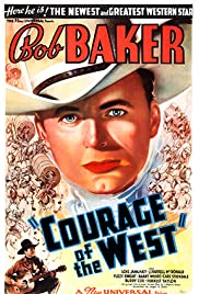 Courage of the West Poster