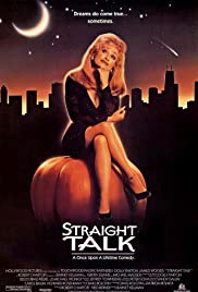 Straight Talk (1992) Poster - Movie Forum, Cast, Reviews