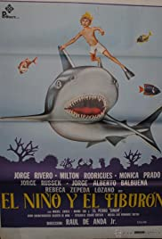 El niño y el tiburón Poster