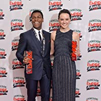 John Boyega and Daisy Ridley