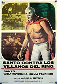 Santo the Silver Mask vs. The Ring Villains Poster