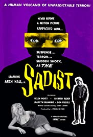 The Sadist (1963) Poster - Movie Forum, Cast, Reviews