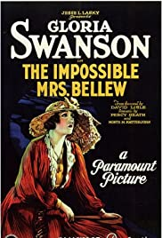 The Impossible Mrs. Bellew Poster