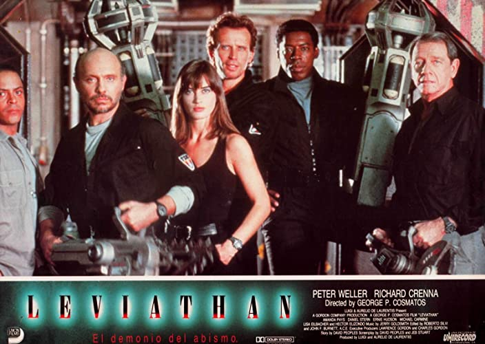 Image result for leviathan 1989 poster