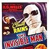 Claude Rains, Gloria Stuart, and E.E. Clive in The Invisible Man (1933)