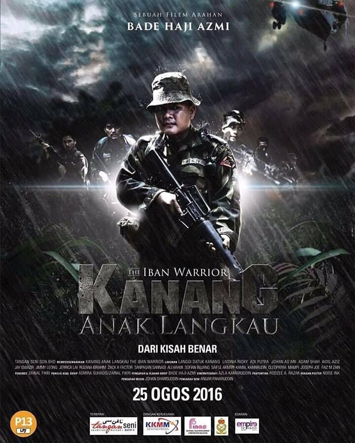 Kanang Anak Langkau: The Iban Warrior