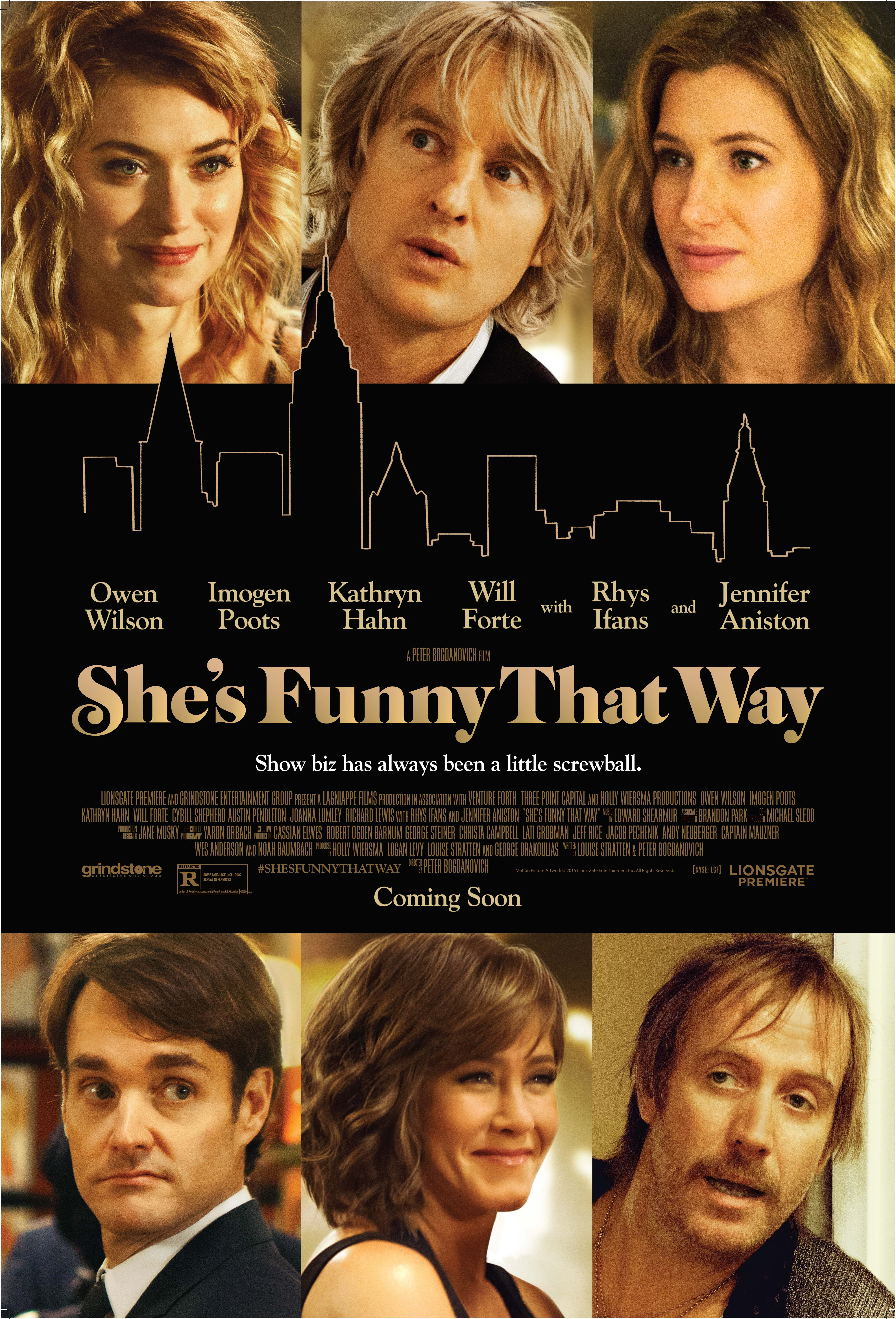 She's Funny That Way full movie streaming