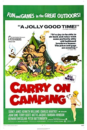 Carry on Camping poster
