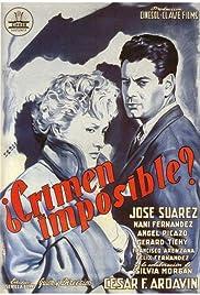 ¿Crimen imposible? Poster