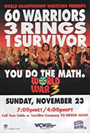 WCW World War 3 Poster