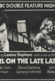 The Girl on the Late, Late Show Poster