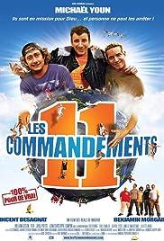 Les 11 commandements Poster