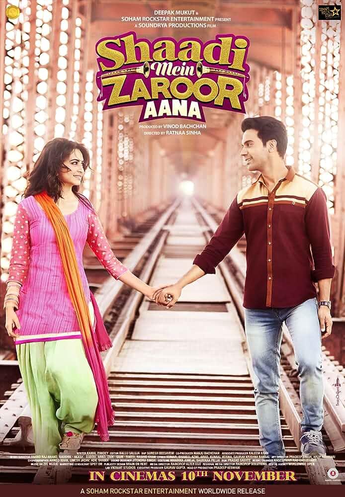 Shaadi Mein Zaroor Aana 2017 Bollywood Hindi Film HDTVRip Watch Online Free Download On dlmovies365.com