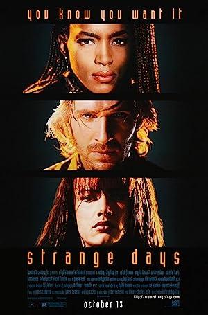 Strange Days poster