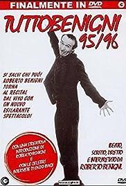 Roberto Benigni: Tuttobenigni 95/96 Poster