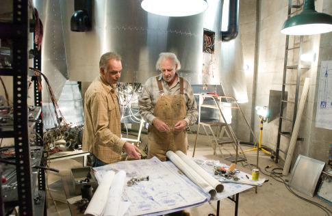 Billy Bob Thornton and Bruce Dern in The Astronaut Farmer (2006)